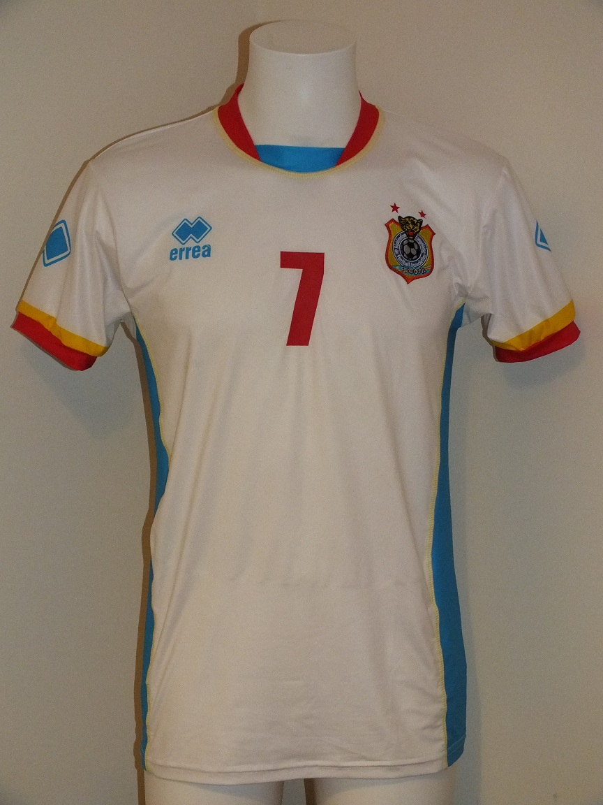 congo dr away football shirt 2013 2015 added on 2014 02