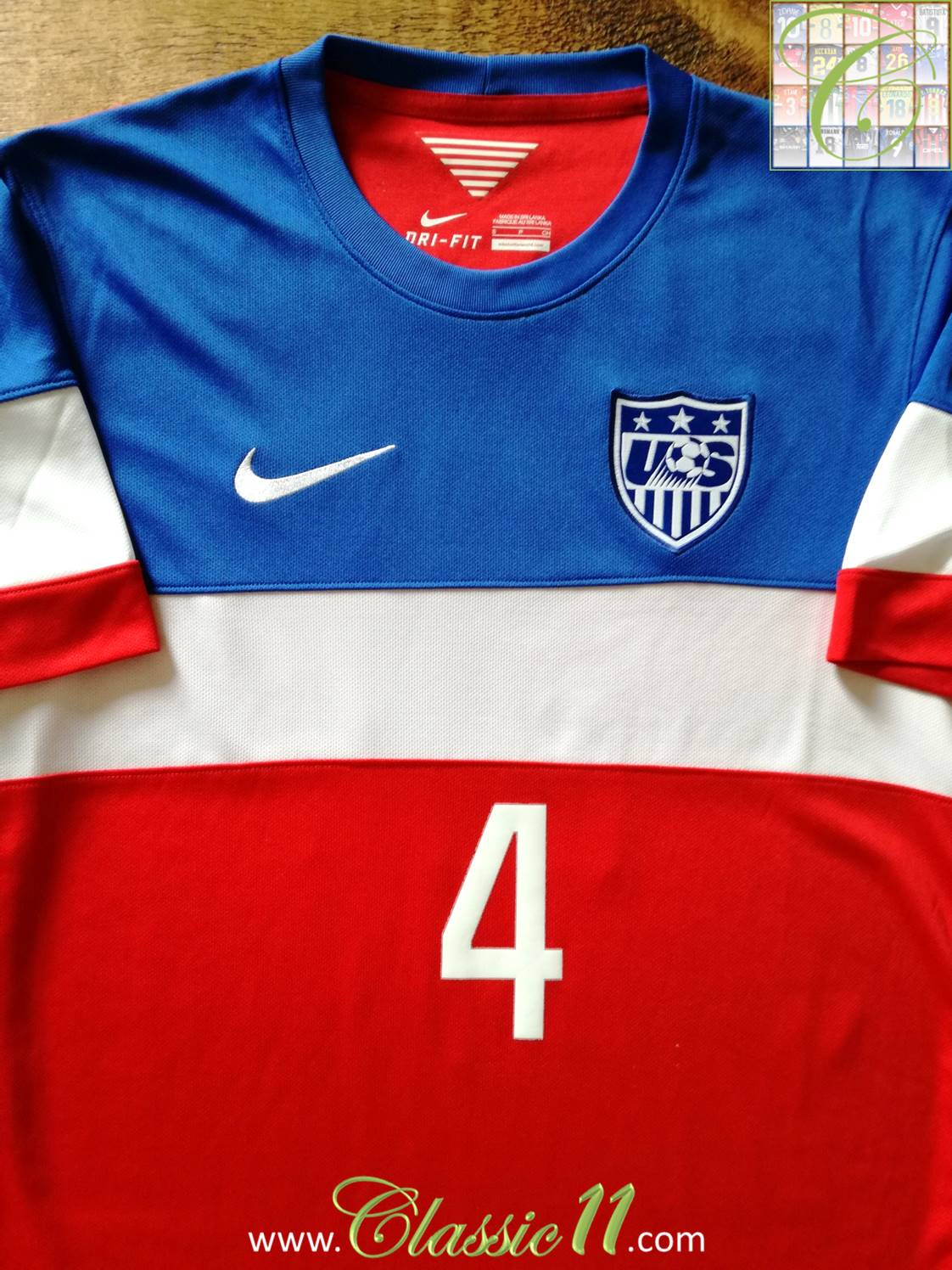 085a741b6 ... USA Away Maillot de foot 2014 - 2015