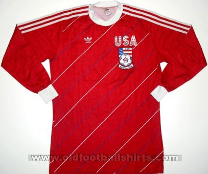 USA Away football shirt 1984 - 1985
