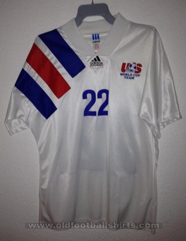 USA Away football shirt 1992 - 1994