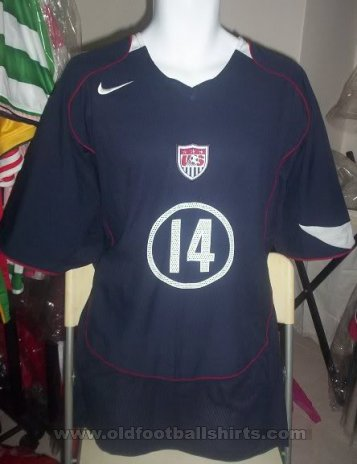 USA Away football shirt 2004 - 2005