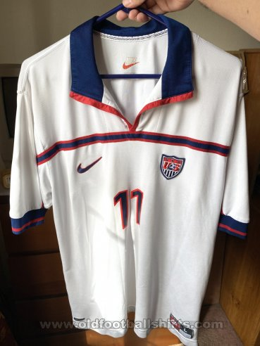 USA Home Maillot de foot 1998 - 2000