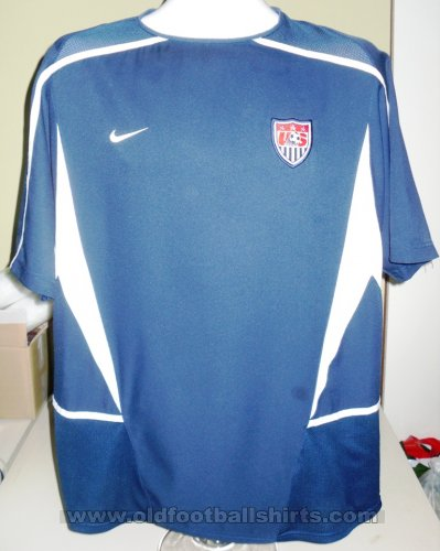 USA Away football shirt 2002 - 2003