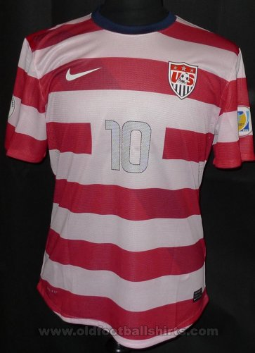 USA Home Camiseta de Fútbol 2012 - 2013