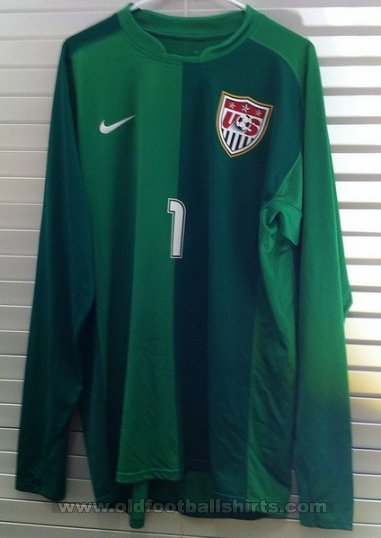 USA Goalkeeper football shirt 2008