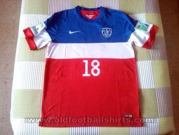 ab10f6efe USA Away maglia di calcio 2014 - 2015.