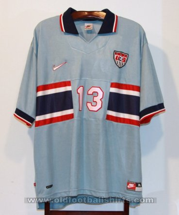 USA Away football shirt 1995 - 1998