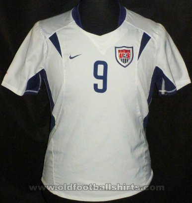USA Womens Teams football shirt 2003 - 2004