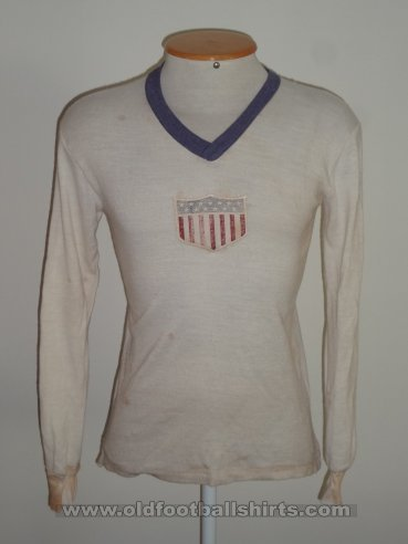 USA Home football shirt 1930