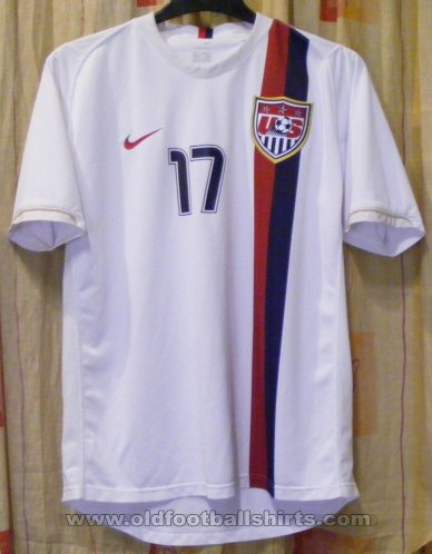 USA Home football shirt 2006 - 2008