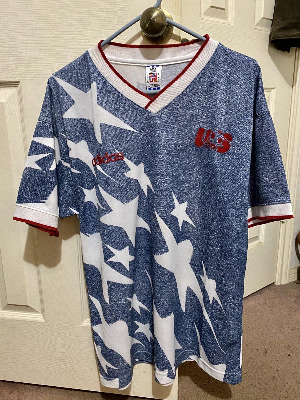 USA Maglia da trasferta maglia di calcio 1994.