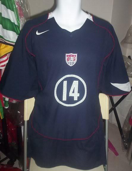 Usa Away Maillot De Foot 2004 2005