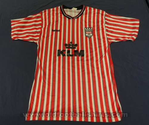 Brentford Home Maillot de foot 1989 - 1990