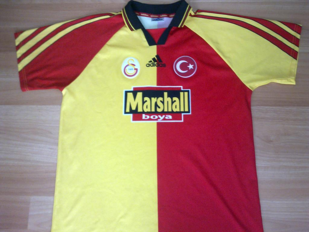 Galatasaray Home Football Shirt 1998 1999