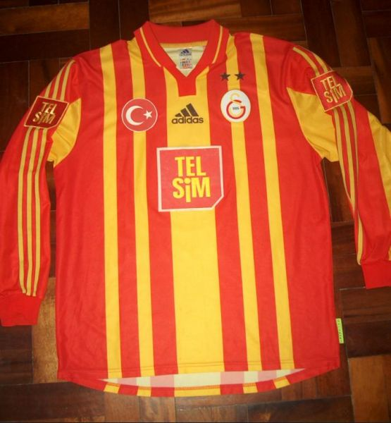 Galatasaray Home Football Shirt 2000 2001 Added On 2009