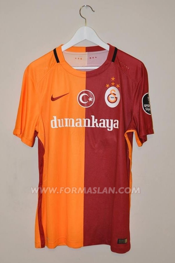 huge selection of ccffb e9382 Galatasaray Home camisa de futebol 2015 - 2016.