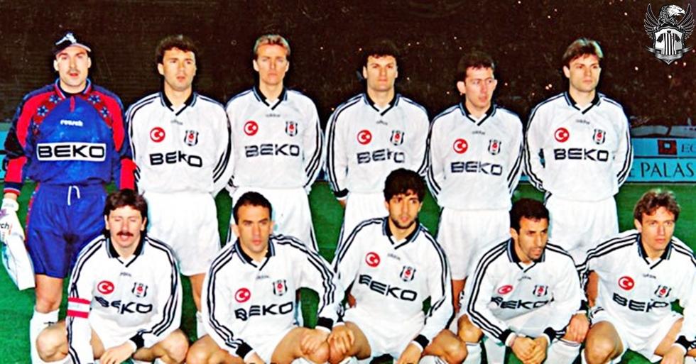 9d88353d2 Besiktas Goalkeeper camisa de futebol 1994 - 1995.