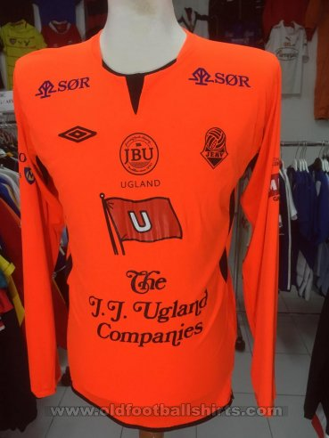 FK Jerv Goalkeeper maglia di calcio (unknown year)
