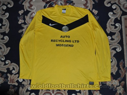 Mossend FC Home Fußball-Trikots (unknown year)