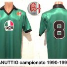 Away football shirt 1990 - 1991