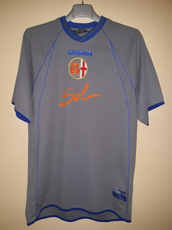 U.S. Alessandria Calcio 1912 Home maglia di calcio 2006 - 2007.