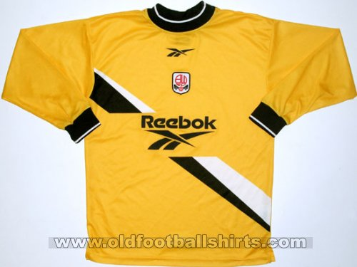Bolton Goalkeeper football shirt 1999 - 2001