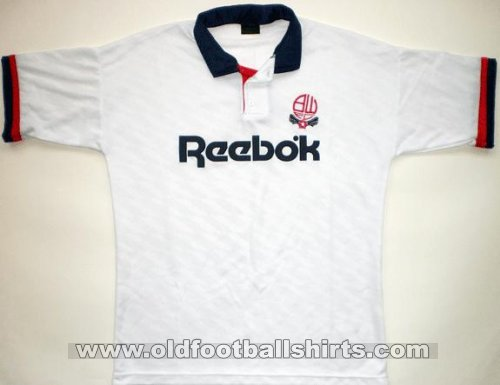 Bolton Home football shirt 1990 - 1993
