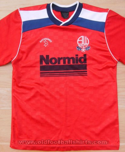 Bolton Away football shirt 1988 - 1990