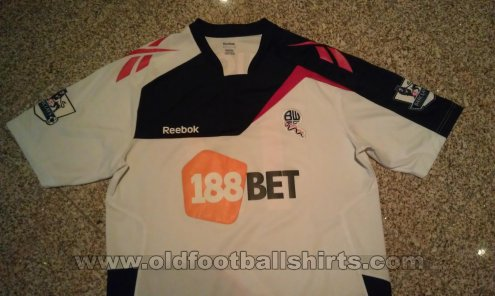 Bolton Home football shirt 2011 - 2012