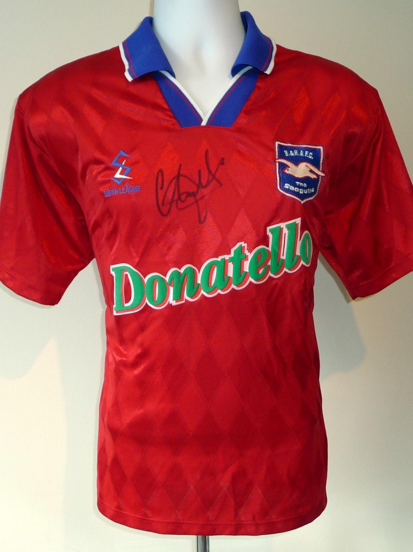 Brighton hove albion ext rieur maillot de foot 1998 for Maillot exterieur
