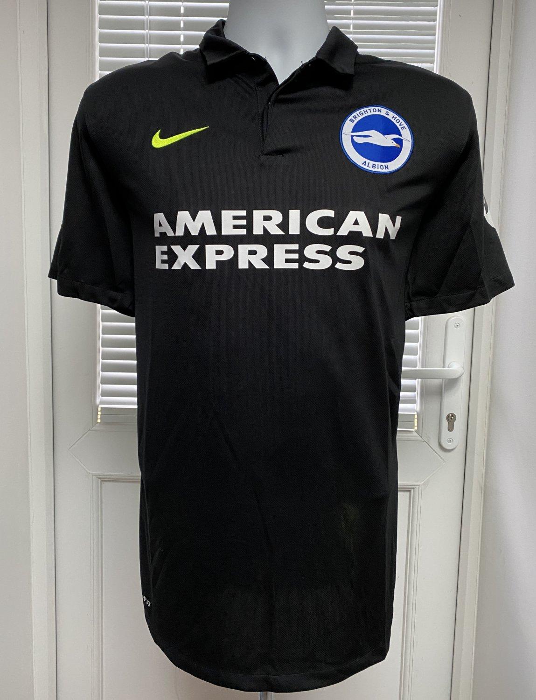 406b0f720f Brighton & Hove Albion Away camisa de futebol 2016 - 2017. Sponsored ...