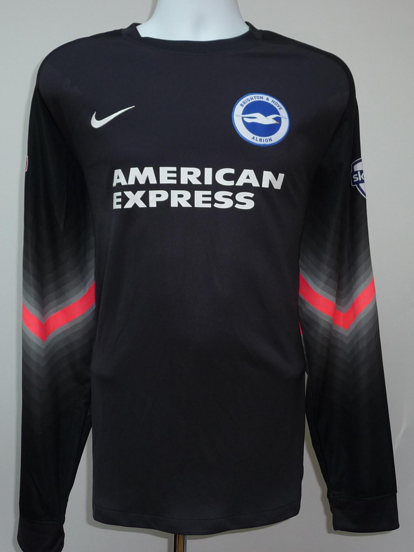 bb82010e56 Brighton & Hove Albion Goalkeeper camisa de futebol 2015 - 2016 ...