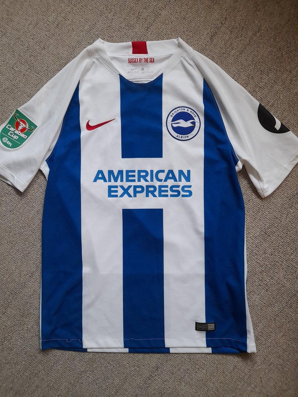 460d32fb6b Nova Temporada Brighton & Hove Albion Home camisa de futebol 2018 ...
