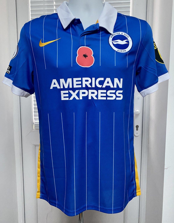 Campionato Nuovo Brighton & Hove Albion Home maglia di calcio 2020 ...
