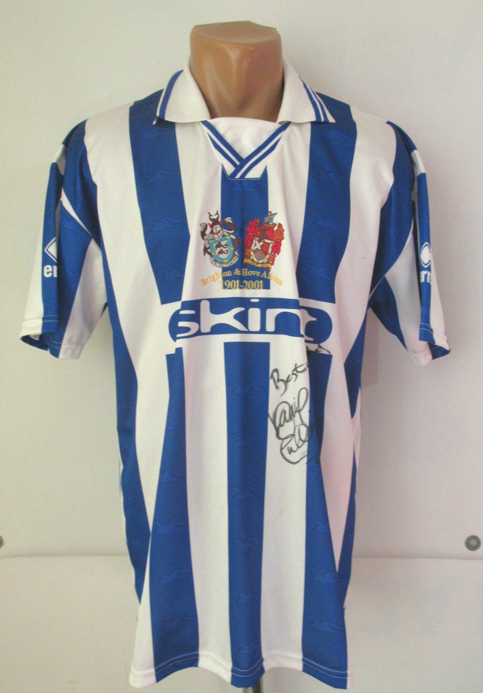 8e91db939cd Brighton & Hove Albion Home football shirt 2000 - 2002. Sponsored by ...