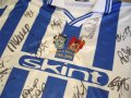 Brighton & Hove Albion Thuis  voetbalshirt  2001 - 2002