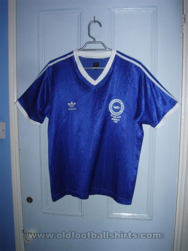 Brighton & Hove Albion Retro Replicas football shirt 1983