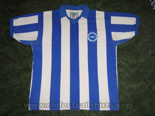 Brighton & Hove Albion Retro Replicas football shirt 1973 - 1975