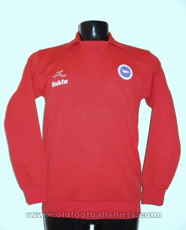 Brighton & Hove Albion Goalkeeper football shirt 1977 - 1978