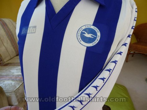 Brighton & Hove Albion Home football shirt 1978 - 1980