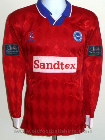 Brighton & Hove Albion Away football shirt 1997