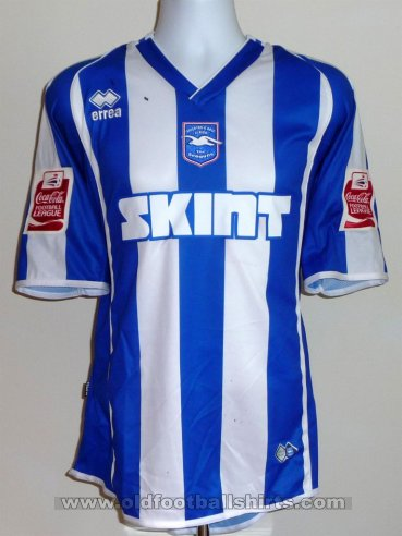 Brighton & Hove Albion Local Camiseta de Fútbol 2006 - 2008