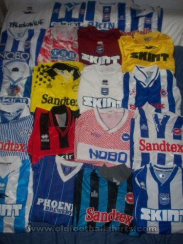 Brighton & Hove Albion Home football shirt 1997 - 2008