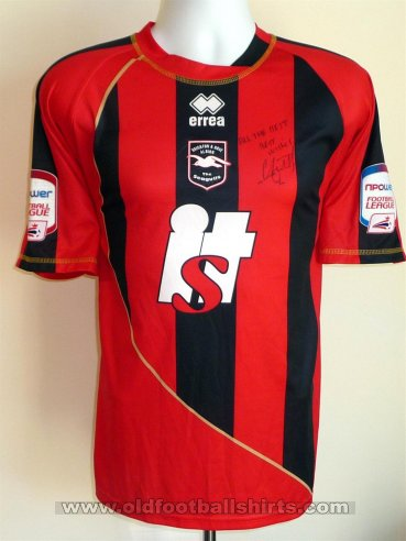 Brighton & Hove Albion Away football shirt 2009 - 2011