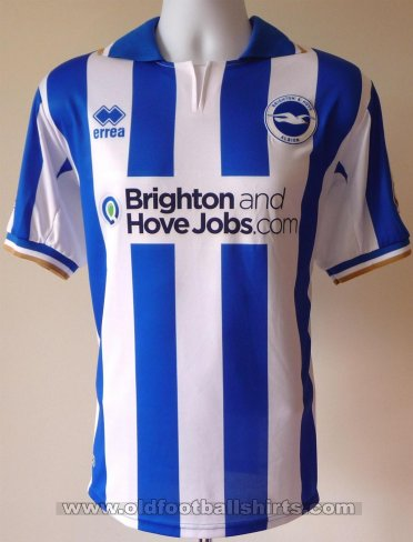 Brighton & Hove Albion Thuis  voetbalshirt  2011 - 2013