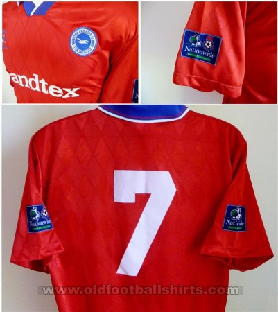 Brighton & Hove Albion Away football shirt 1997 - 1998