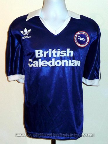 Brighton & Hove Albion Retro Replicas football shirt 1980 - 1983