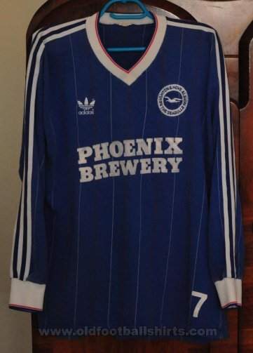 Brighton & Hove Albion Home football shirt 1984 - 1985