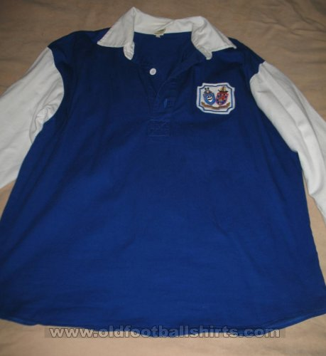 Brighton & Hove Albion Retro Replicas football shirt 1948 - 1951