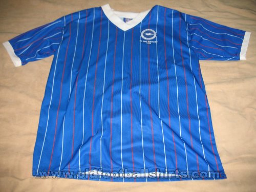 Brighton & Hove Albion Retro Replicas футболка 1983